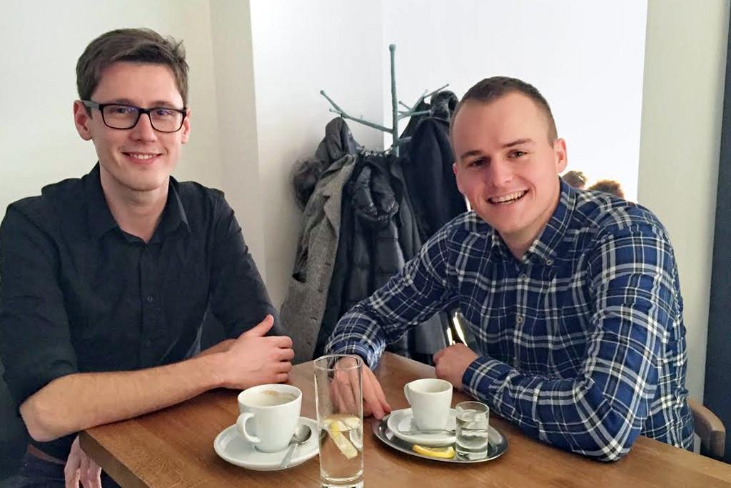 Karel Motlík a Tomáš Hrabec